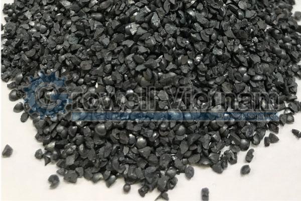 Hạt thép đa cạnh - Cát làm sạch bề mặt kim loại