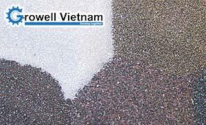 Cát phun – Cát phun rỉ thép – Cát phun làm sạch bề mặt kim loại