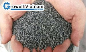 Hạt bi thép làm sạch xử lý bề mặt Thái Lan – Bi thép làm sạch
