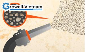 Tổng quan về phun cát làm sạch bề mặt kim loại
