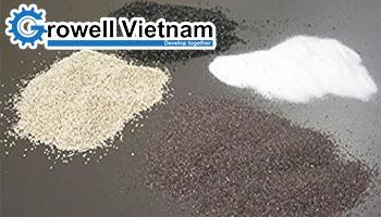 Tổng quan 6 loại Hạt mài phun cát thông dụng nhất