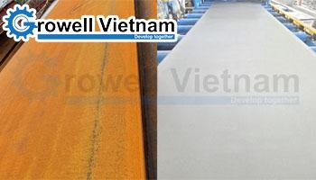 Phun cát xử lý bề mặt - Phương pháp làm sạch kim loại hiệu quả