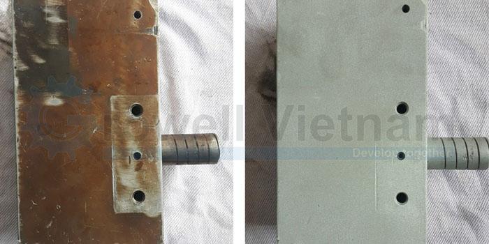 Làm sạch tẩy rỉ - Chuẩn bị bề mặt kim loại